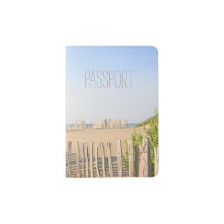 Beach Fence Passport Holder