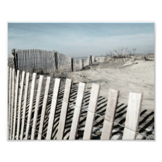 Beach Fence Photo Print