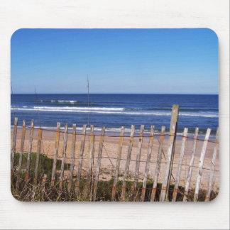 Beach Fence Photos Mouse Pad