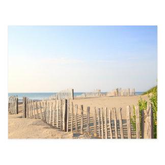 Beach Fence Postcard