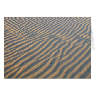 Beach Fingerprint Greeting Card