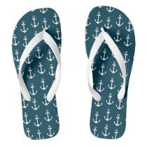 Beach flip flop anchor pattern