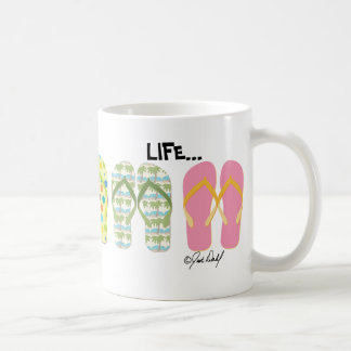Beach Flip Flops Coffee Mug