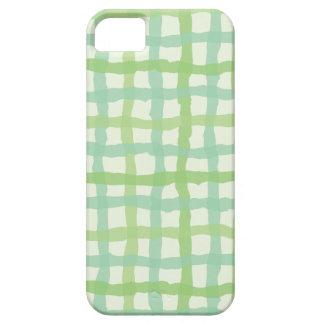 Beach Flora Green Phone Case - Gingham