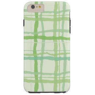 Beach Flora Green Phone Case - Plaid