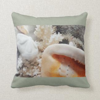 Beach Florida Home Decor Throw Pillow
