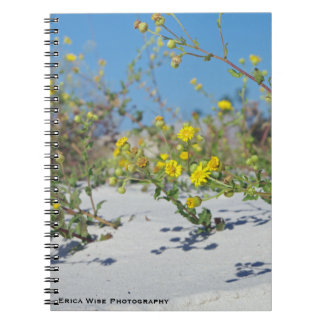 Beach Flowers Notebook