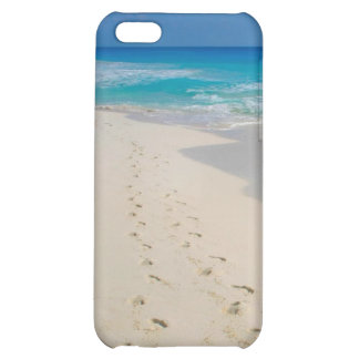 beach footprints case for iPhone 5C