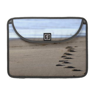 Beach Footsteps MacBook Pro Sleeve