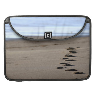 Beach Footsteps Sleeve For MacBook Pro