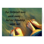 Beach Forever Friends Poem Greeting Cards