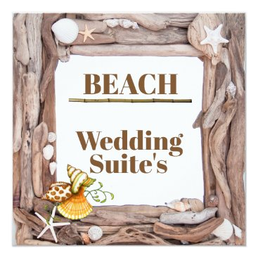 BEACH FRAME CARD