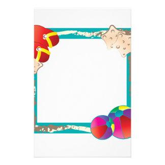 Beach Frame Stationery