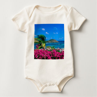 Beach French Cul De Sac Saint Martin Baby Bodysuit