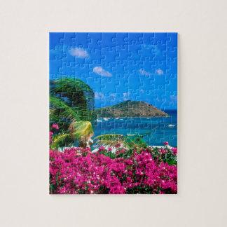 Beach French Cul De Sac Saint Martin Jigsaw Puzzle