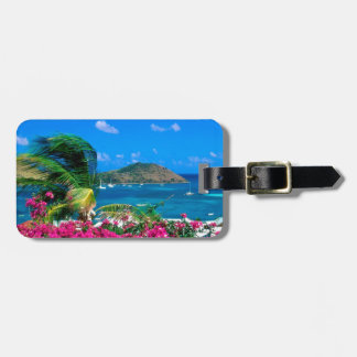 Beach French Cul De Sac Saint Martin Luggage Tag