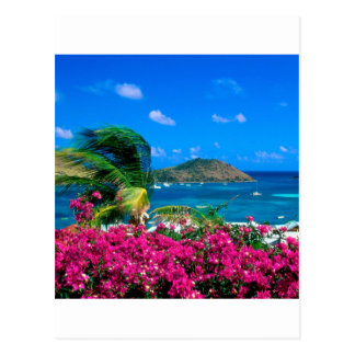 Beach French Cul De Sac Saint Martin Postcard