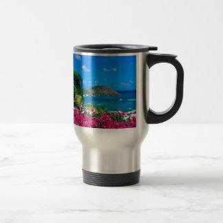 Beach French Cul De Sac Saint Martin Travel Mug