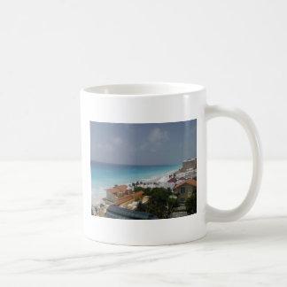 Beach Front Cancun Mexico Coffee Mugs