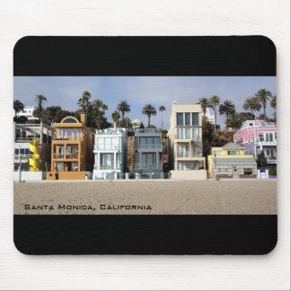 Beach Front Houses Mousaepad Mousepad