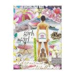 Beach Fun Art Canvas Stretched Canvas Prints
