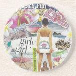 Beach Fun Coaster