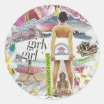 Beach Fun Stickers