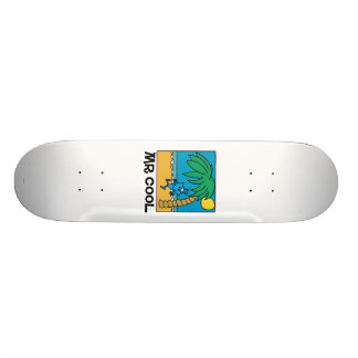 Beach Fun With Mr. Cool Skate Board Deck