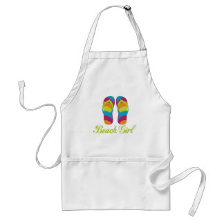 Beach Girl Adult Apron