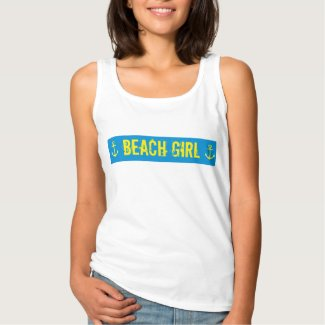 BEACH GIRL BASIC TANK TOP