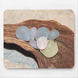 Beach Glass Easter Eggs Mouse Pad