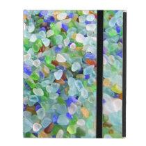 Beach Glass iPad Folio Cases