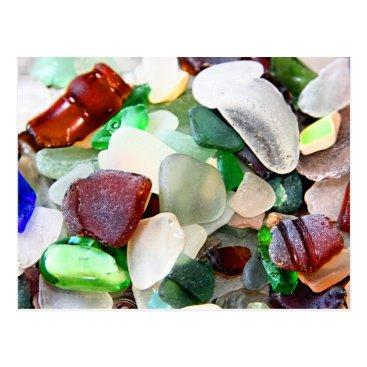 CarriesCamera Beach Glass Postcards