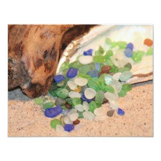 Beach Glass Tinies Card