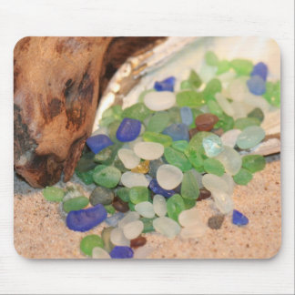 Beach Glass Tinies Mouse Pad