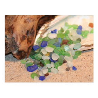 Beach Glass Tinies Post Cards