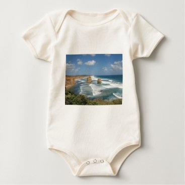 Beach Themed Beach Glow Baby Bodysuit