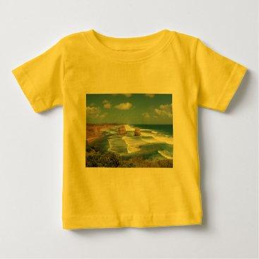 Beach Themed Beach Glow Baby T-Shirt