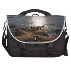 Beach Glow Computer Bag