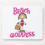 Beach Goddess Tshirts and Gifts Mousepad