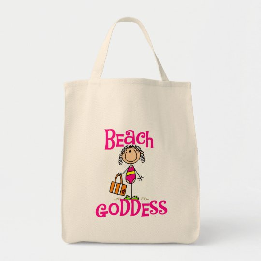 Beach Goddess Tshirts and Gifts Tote Bag