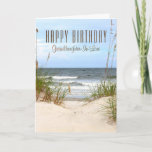 "Beach Granddaughter-In-Law Birthday Card<br><div class=""desc"">Beach Granddaughter-In-Law Happy Birthday</div>"