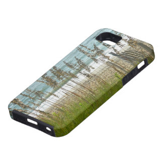 Beach Grass and Ocean Waves iPhone SE/5/5s Case