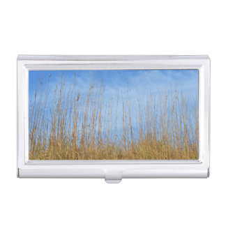 Beach Grass by Shirley Taylor Case For Business Cards