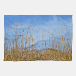 Beach Grass by Shirley Taylor Kitchen Towel