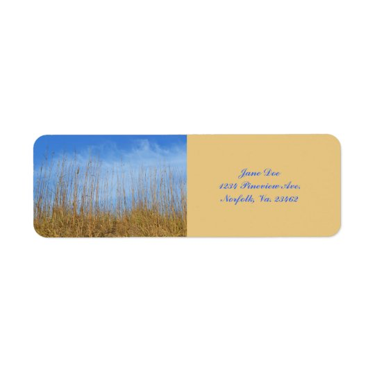 Beach Grass by Shirley Taylor Label