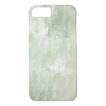 Beach Themed Beach Green Cream Sand abstract iPhone 7 Case