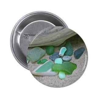 Beach Greens Button