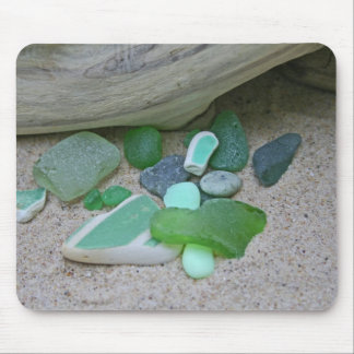 Beach Greens Mouse Pad