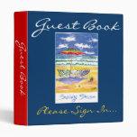 Beach Guest book 3 Ring Binder